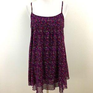 🆕 Purple Floral Dress